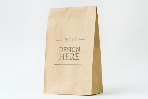 Paper bag mockup - 296317