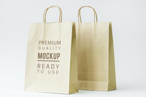 Paper bag mockup - 296335