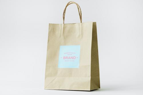 Paper bag mockup - 296363