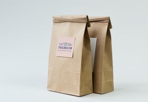 Paper bag mockup - 295608