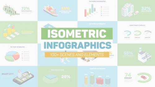 Videohive - Isometric Infographics - 20869321