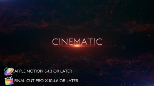 Videohive - Cinematic Trailer Titles - Apple Motion - 27804974