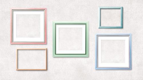 Photo frame mockup collection - 2021888