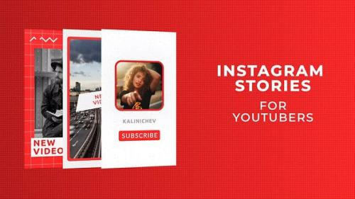 Videohive - Instagram Stories for YouTubers - 28095962