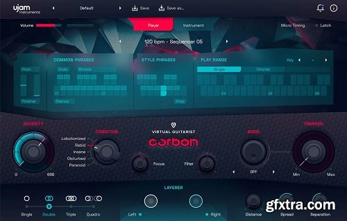 UJAM Virtual Guitarist CARBON v1.0.1 M497 PROPER