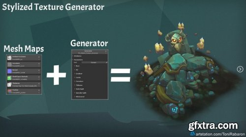 Artstation – Stylized Texture Generator for Substance Painter