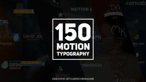 Videohive - 150 Motion Typography - 20949185