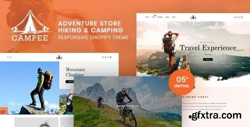 ThemeForest - Campee v1.0.0 - Adventure Store Hiking and Camping Shopify Theme - 29275044