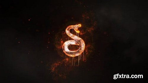 Videohive - Fire Logo Reveal - 29366650