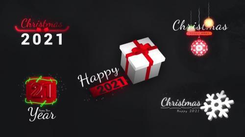 MotionArray - Christmas Motion Titles - 877511