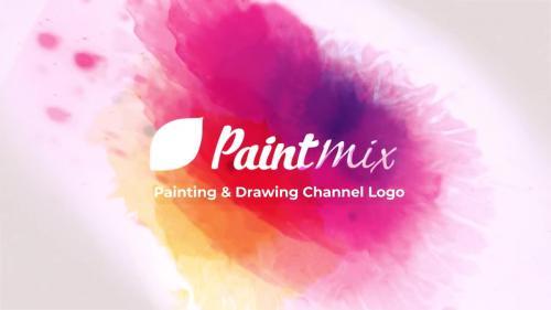 MotionArray - Colorful Paint Logo Reveal - 877177