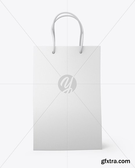 Leather Shopping Bag With Handles mockup 72478