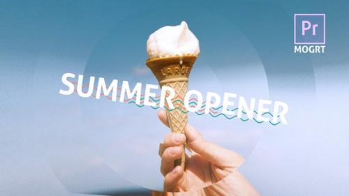 Videohive - Summer Dynamic Opener MOGRT - 29811680