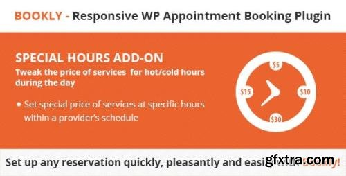 CodeCanyon - Bookly Special Hours (Add-on) v2.5 - 18704535