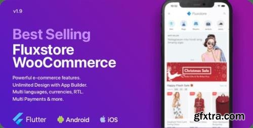 CodeCanyon - Fluxstore WooCommerce v1.9.3 - Flutter E-commerce Full App - 24050041