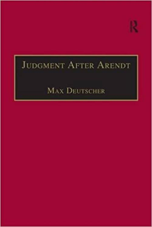 Judgment After Arendt