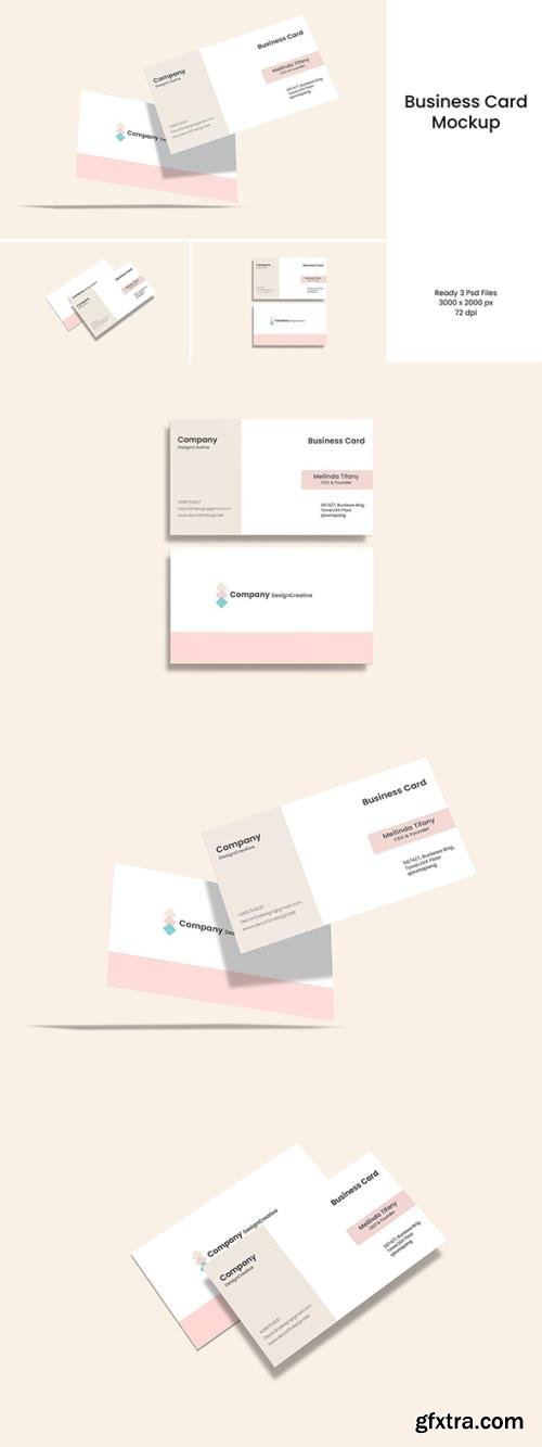 Business Card Mockup V.2