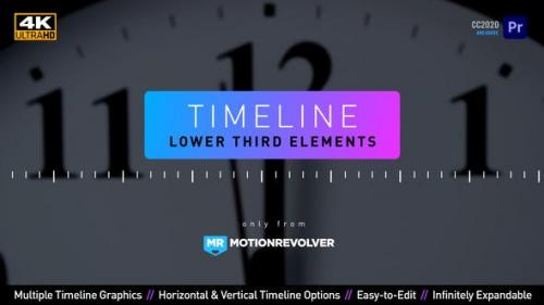 Videohive - Timeline Lower Third Elements | MOGRT for Premiere Pro - 30873664