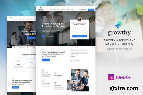ThemeForest - Growthy v1.0.0 - Growth Hacking & Marketing Agency Elementor Template Kit - 31258669
