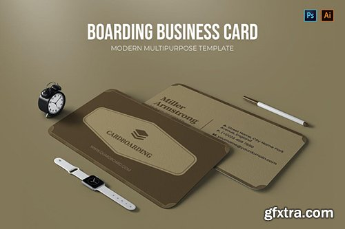 Cardboarding - Business Card