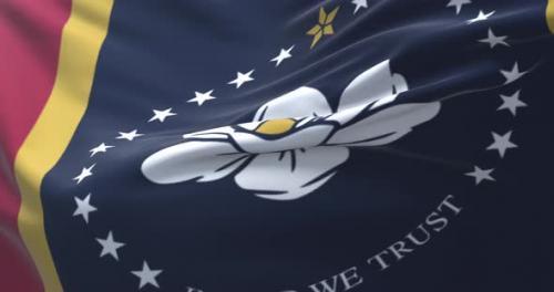 Videohive - Mississippi Flag, United States - 32315653