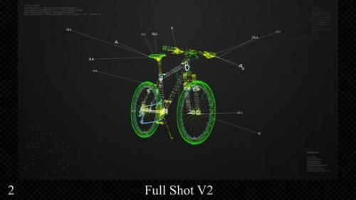 Videohive - Bike HUD - 32339438