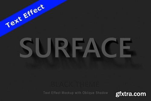 CreativeMarket - Text Effect Mockup Oblique Shadow 4694606