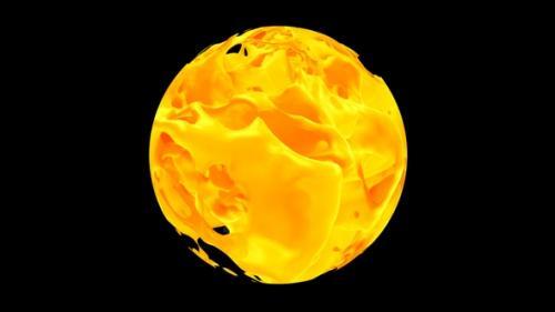 Videohive - Pouring Mango Juice Splash In Sphere - 32461713
