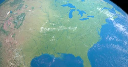 Videohive - Mississippi River in Planet Earth - 32462645