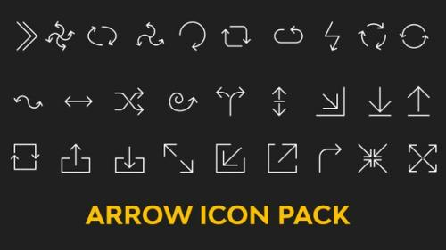 Videohive - Arrows Icon Pack - 32485476