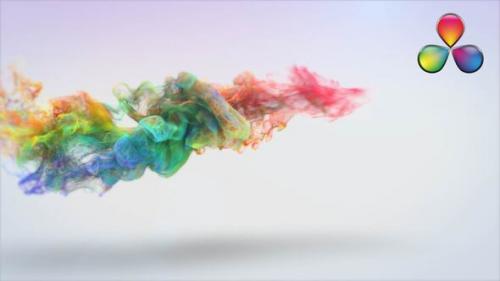 Videohive - Winding Particles Logo Reveal - Davinci Resolve - 32257822