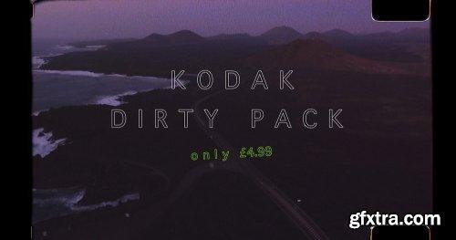 Daniel John Peters - Kodak Dirty Pack - LUTs & Overlays