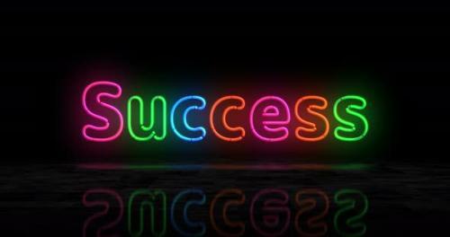 Videohive - Club symbol glowing neon 3d lights - 32511962