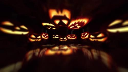 Videohive - Halloween Pumpkins - 32950649