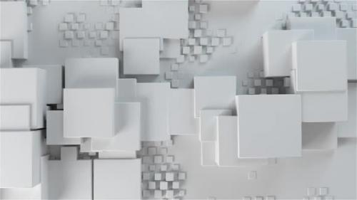 Videohive - Clean White Boxes Background - 33036770