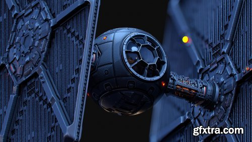 Artstation – Creating a Tie Fighter with Substance Designer