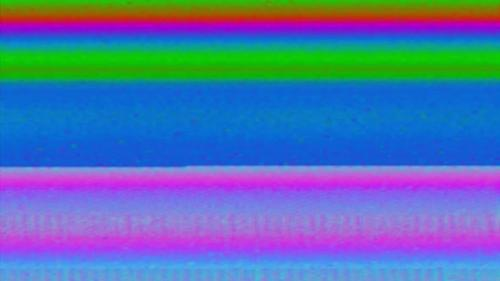 Videohive - Playback of VHS videotapes bugs and static noise background, light static TV lines. - 33584719