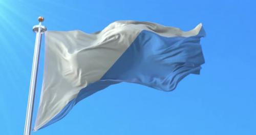 Videohive - El Bierzo Region Flag, Spain - 33611847