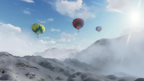 Videohive - Hot Air Baloon - 33844264