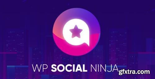WP Social Ninja Pro v3.0.3 - All-In-One Social Media WordPress Plugin - NULLED