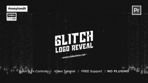 Videohive - Fast Glitch Logo Reveal Template - 34195503